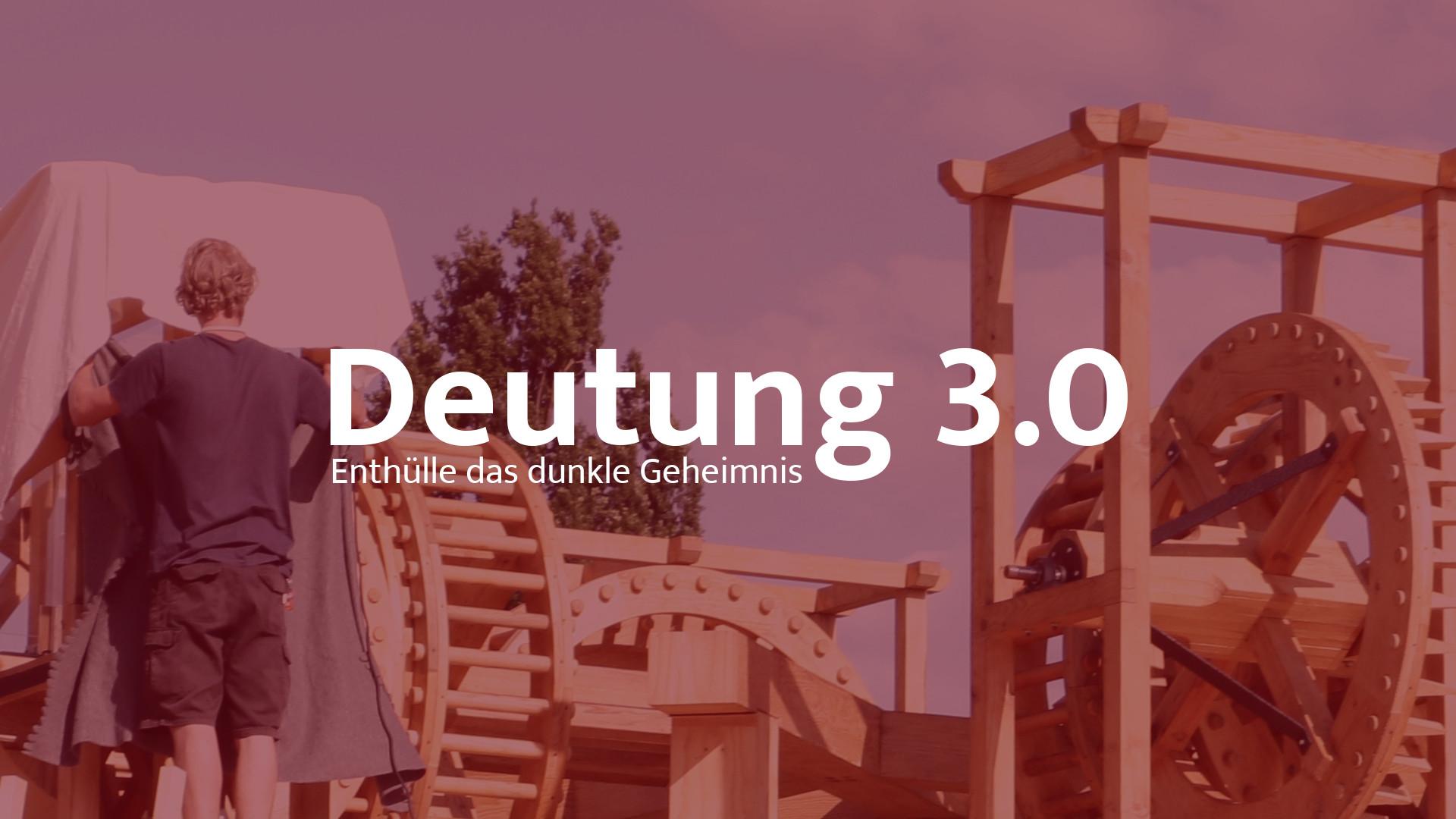 """first release """"Deutung 3.0"""", Kassel Germany"""